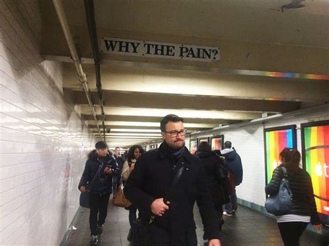 The story behind the depressing Times Square subway poem