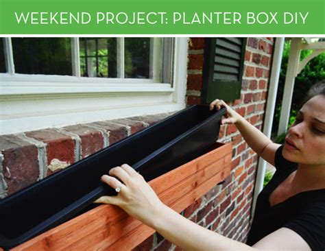 Weekend Project: Installing a Planter Box | Curbly