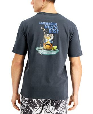 Tommy Bahama Men's Another Rum Bites the Dust Graphic T