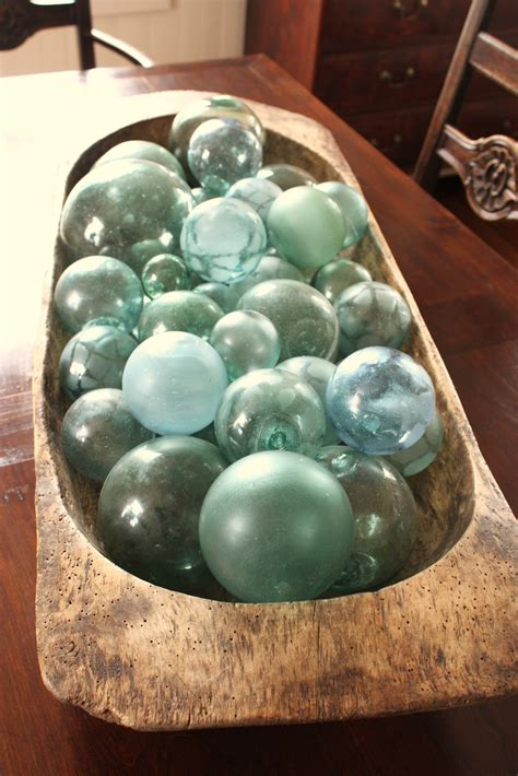 for the love of a house: vintage japanese glass fishing floats