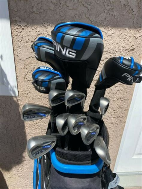 PING G30 Golf Clubs - Complete Set with PING Traverse Cart