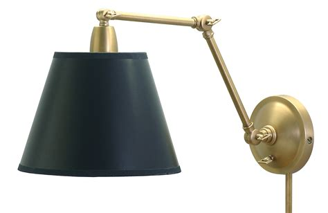 House of Troy PL20-WB Swing Arm Library Wall Lamp