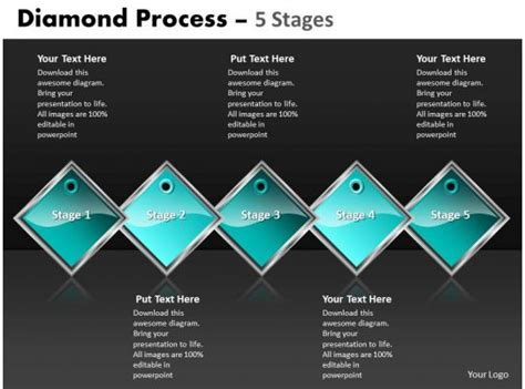 Diamond Process 5 Stages 34 | PowerPoint Presentation