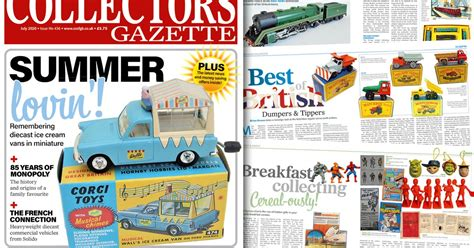 What's in the latest issue of Collectors Gazette