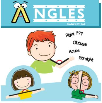Types of Angles Worksheet (Straight, Acute, Right, Obtuse