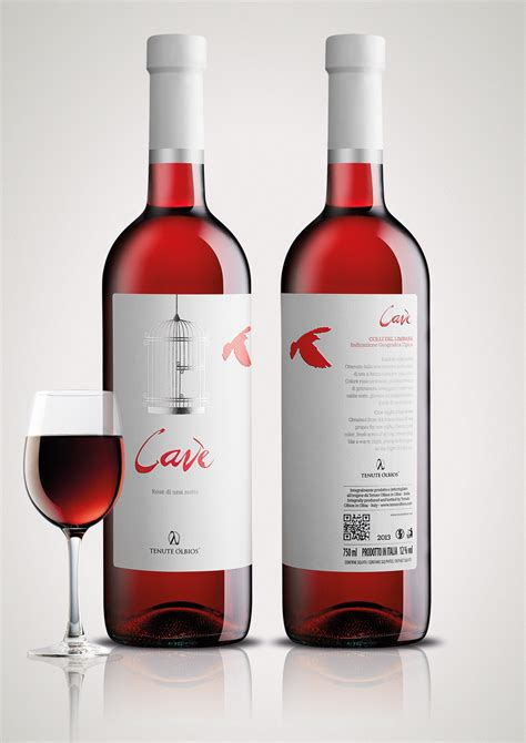 Cavè - One Night Rose Wine on Packaging of the World