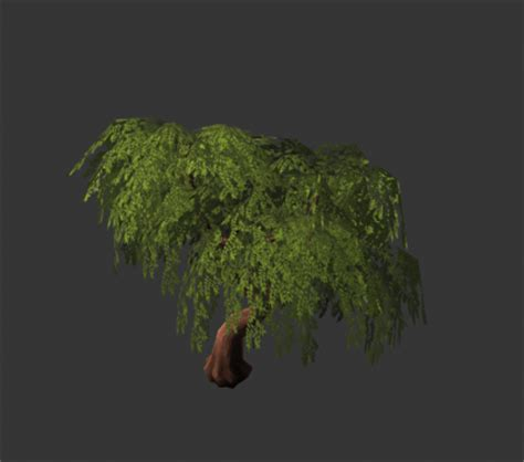 Low-poly trees, stumps, branches | OpenGameArt