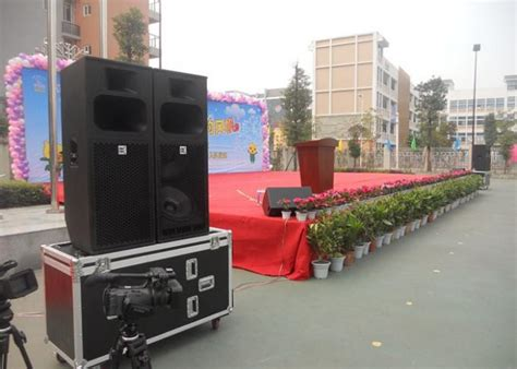 Outdoor Passive Pa System Stage Audio Speaker Box Concert