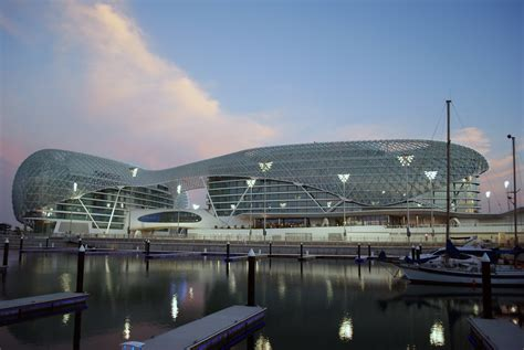 Amazing Construction Built Over F1 Racing Track-Yas