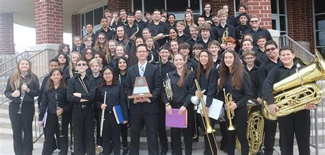 Four HCISD bands earn Sweepstakes trophies