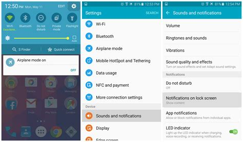 Galaxy S6: Stop text messages from showing preview in