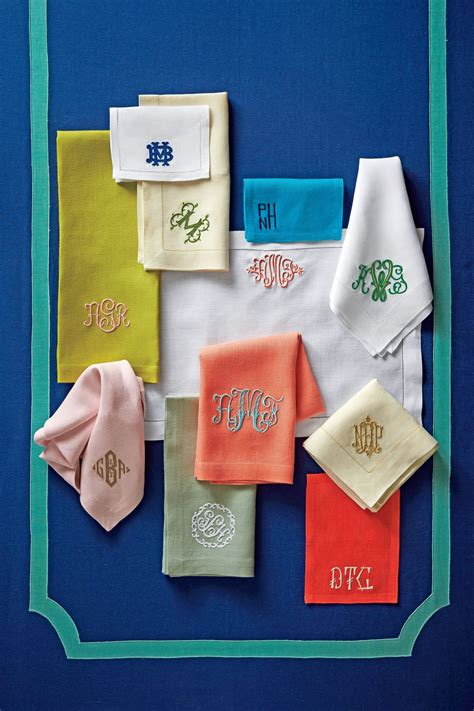 How to Monogram with a Double Name - Southern Living