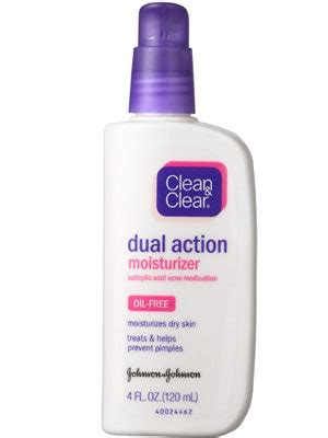 Clean & Clear Dual Action Moisturizer Review | Allure
