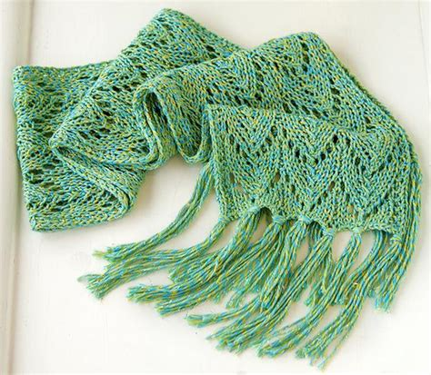 The Silkwing Scarf by Knit Culture – Knit Collage
