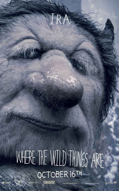 4 New WHERE THE WILD THINGS ARE Character Posters — GeekTyrant