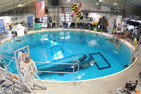 UMD has a pool that simulates the weightlessness of space