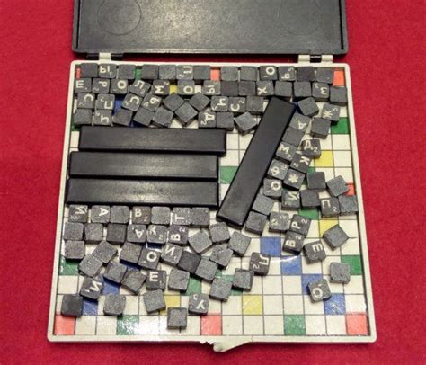 Soviet Vintage Crossword Puzzle Game THINKER - great gift