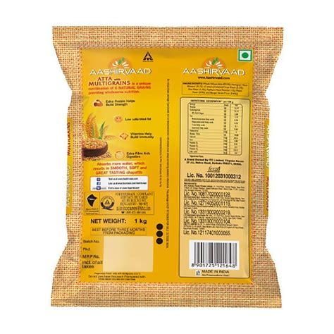 Aashirvaad Atta with Multigrains, Price from Rs