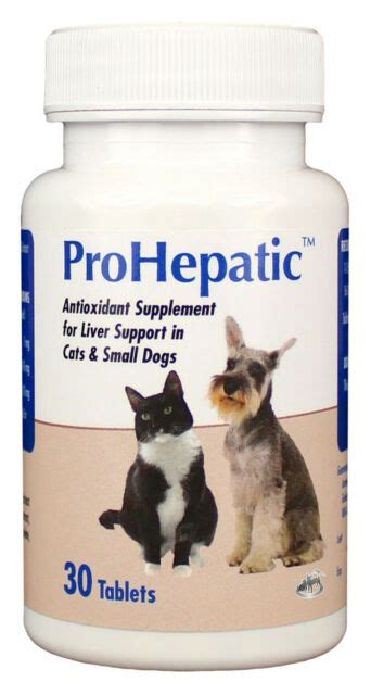 ProHepatic Liver Support Chewable Tablets for Cats & Small