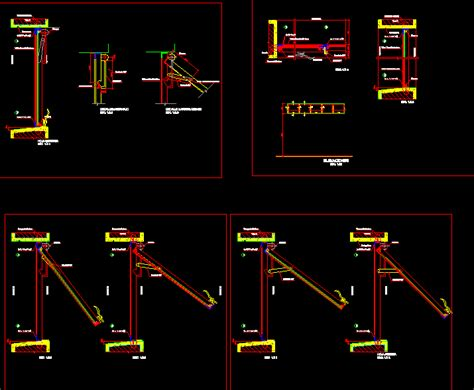 Projected Window DWG Full Project for AutoCAD • Designs CAD