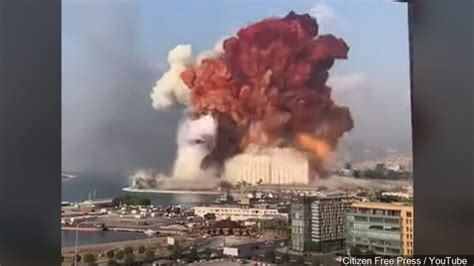 Huge explosion rocks Beirut with widespread damage, injuries