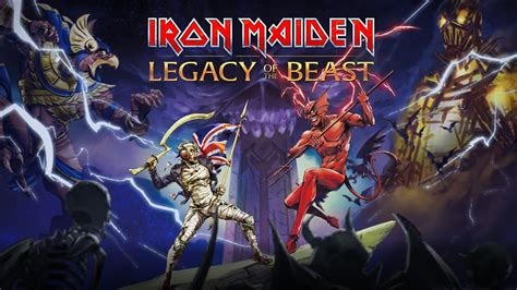 IRON MAIDEN: Legacy Of The Beast Mobile Game - Metal