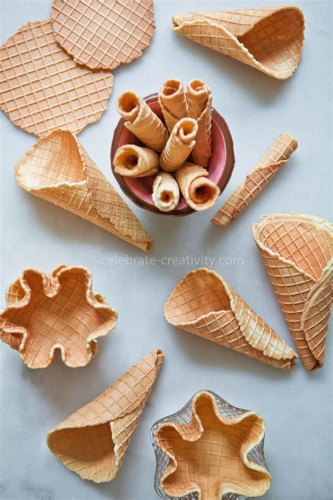 3 Ways to Make and Eat Waffle Cones - Ella Claire