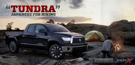 Toyota Tundra XSP-X the truck for you|Toyota ads