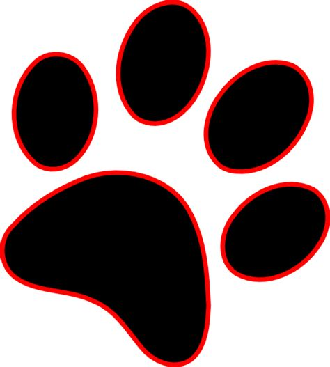 Paw Print Clip Art at Clker