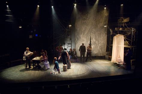 The Theatrical Designs of Gary Benson: The Caucasian Chalk