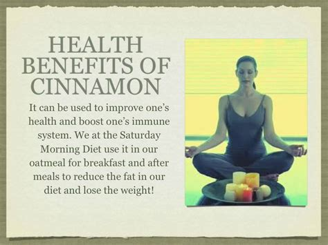 How to Use Cinnamon Benefits for FAST Weight Loss for