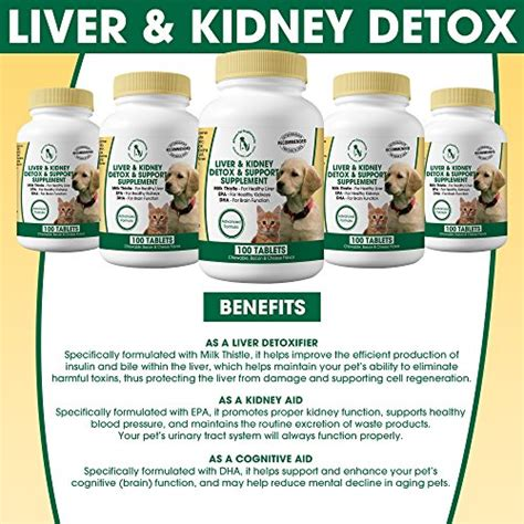 Milk Thistle Liver & Kidney Supplement for DOGS and CATS