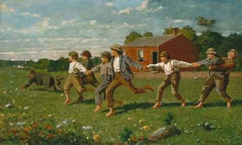 Snap the Whip | Winslow Homer | 50