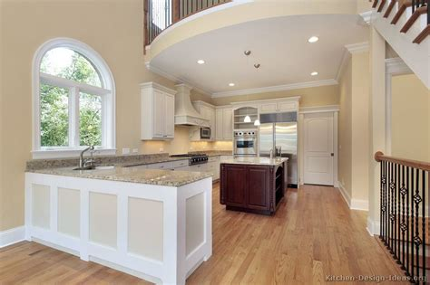 Pictures of Kitchens - Traditional - Two-Tone Kitchen