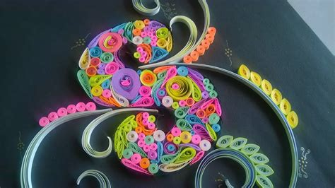shequills: Quilled S for Indian Quilling Challenge #17