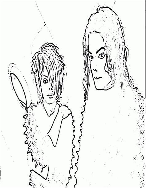 Printable Michael Jackson Coloring Pages - Coloring Home