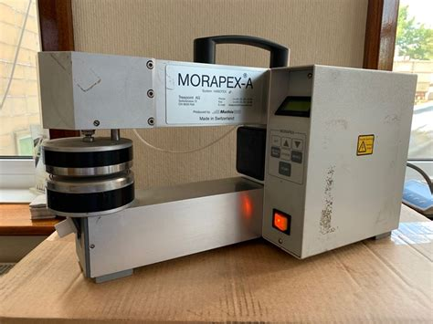 Quality Control - Laboratory MATHIS MORAPEX TYPE A for