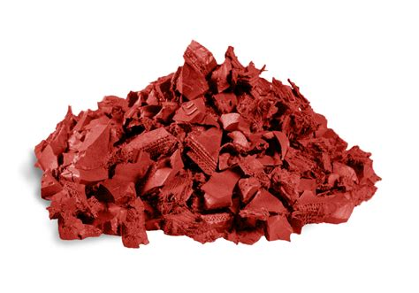 Redwood Rubber Mulch - Recycled Rubber Mulch